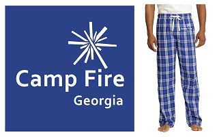 Camp Fire Georgia Flannel Pajamas