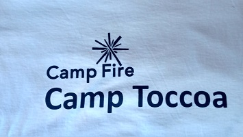 White Camp Toccoa T-Shirt